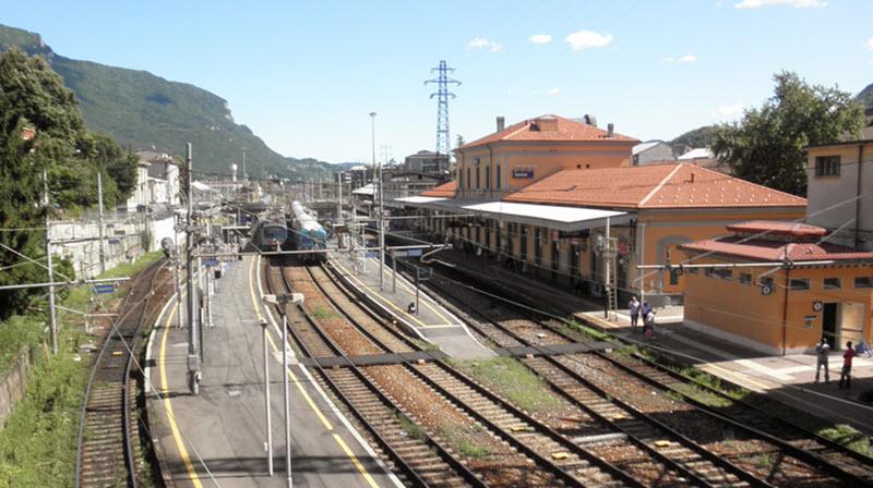 Stazione di Lecco.
